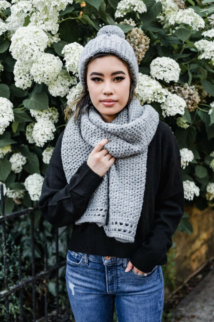 The Marlo Hat and Scarf