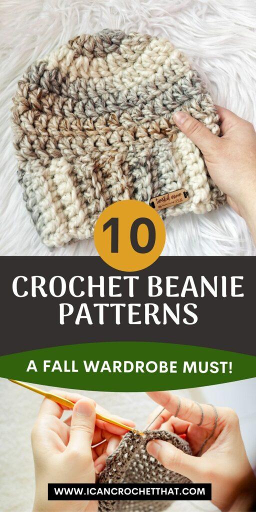 10 beanie patterns to crochet