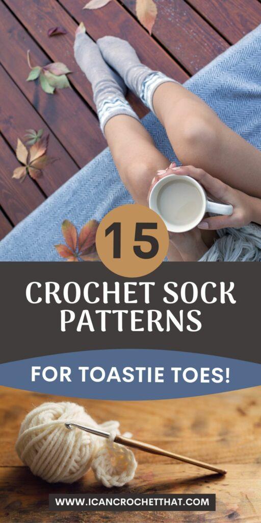 easy crochet sock patterns