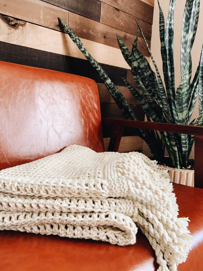 I Can Crochet That Tunisian Crochet Blanket Pattern