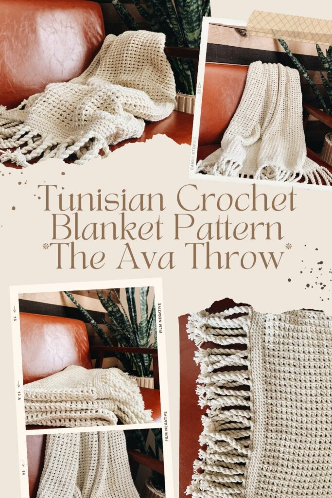 I Can Crochet Throw Tunisian Crochet Patterns