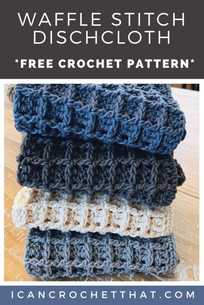 free I Can Crochet That Dishcloth Pattern
