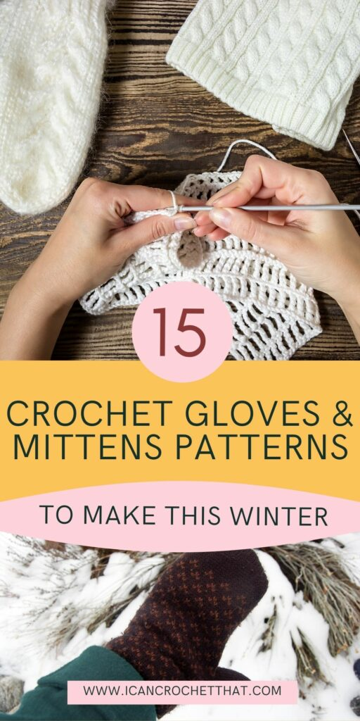 crochet gloves and mittens patterns