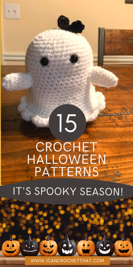 crochet halloween patterns round up