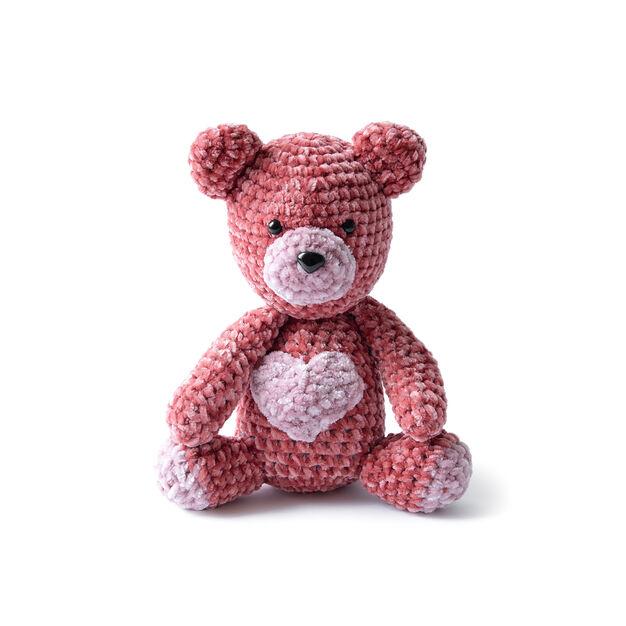 valentine crochet bear pattern