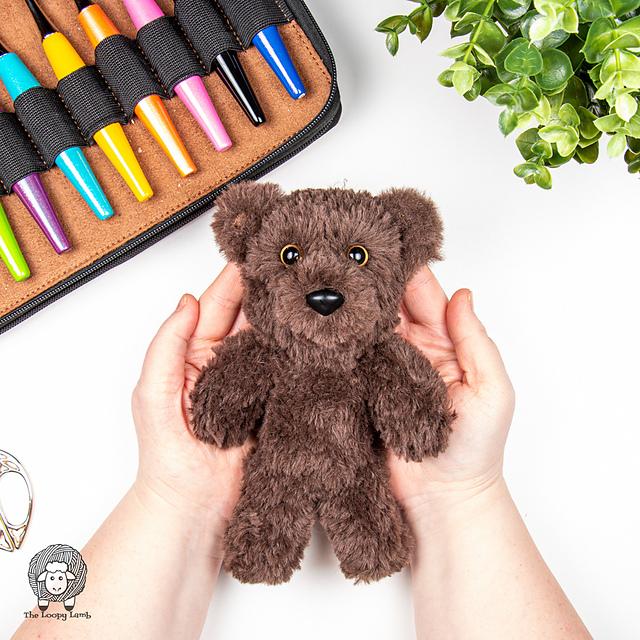 fuzzy crochet bear pattern