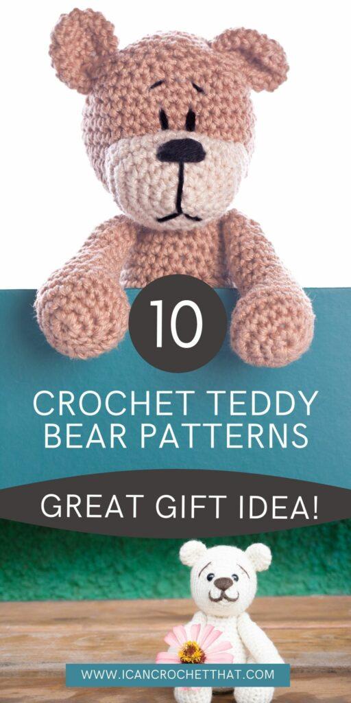 adorable crochet teddy bear patterns