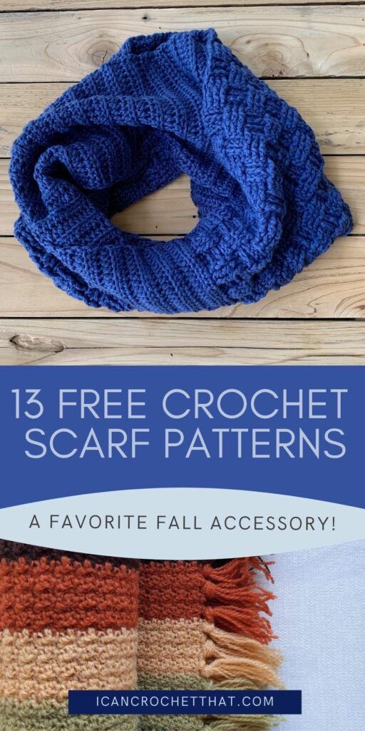 free crochet scarf patterns for fall