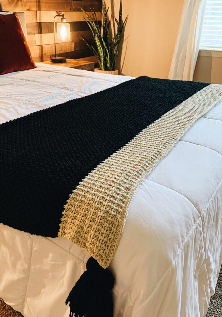 crochet blanket pattern for queen size bed