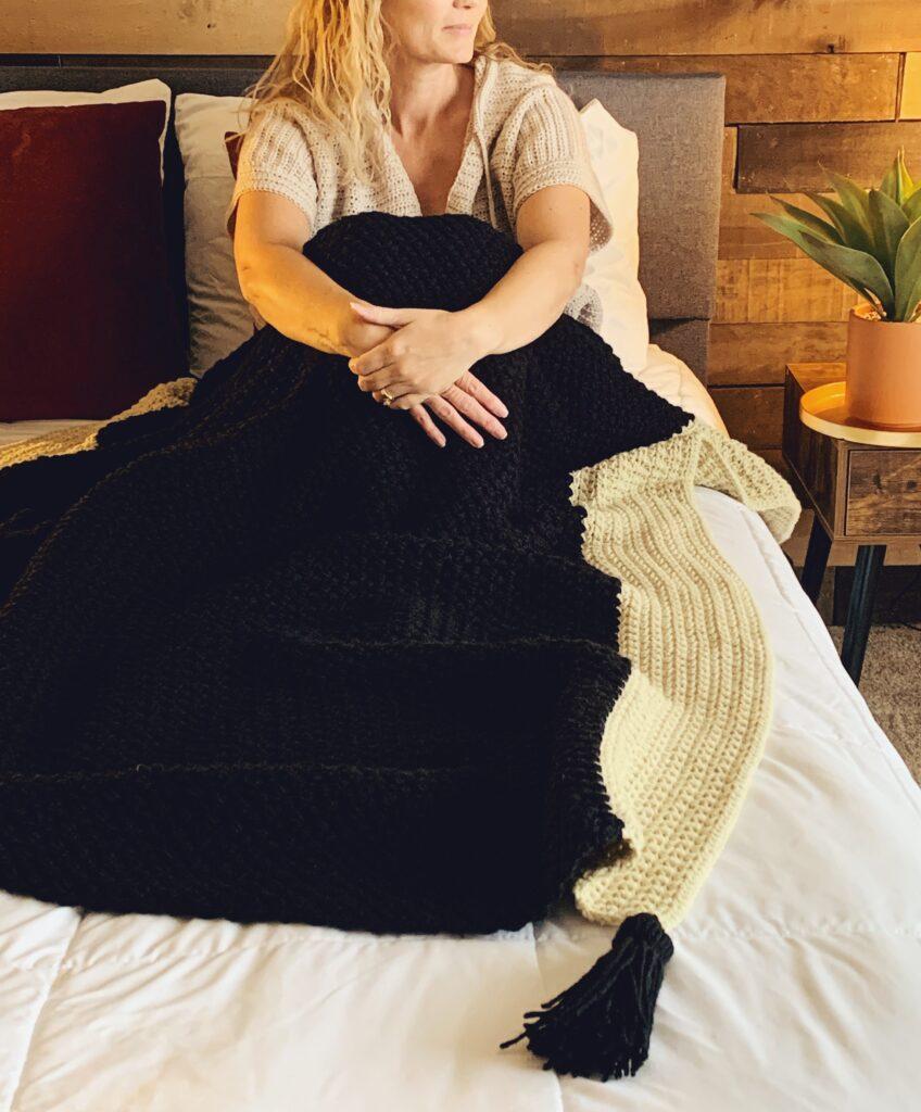 experienced beginner crochet blanket pattern