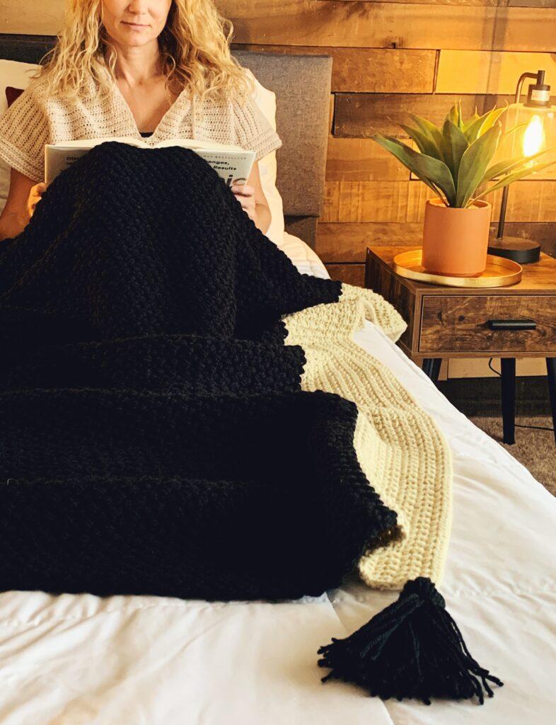 the sara crochet blanket