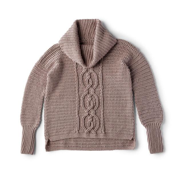 crochet sweater pattern yarnspirations