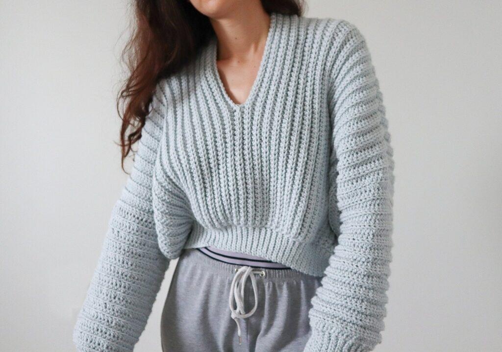 Crochet Sweater Pattern Etsy
